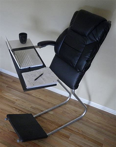 Standing Leaning Chair by Standing Desk Backrest Leanchair Technabob
