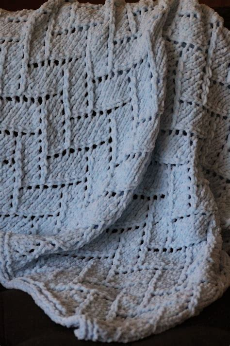 baby blanket dimensions knitting bricklayer s lace baby blanket made with roughly 450