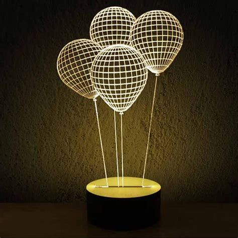 Shell Table Modern Acrylic 3d Led Table Lamp 11972 Free Ship Browse