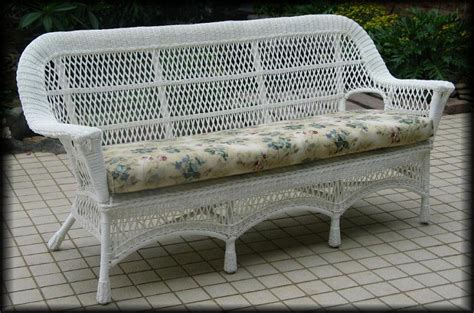 white wicker sofa manchester all weather wicker sofa all about wicker
