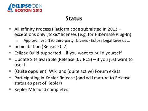 Infinity Process Platform Soa Symposium Eclipse Con 2013