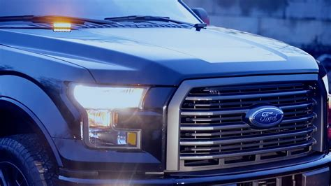 ford truck led lights 2016 f 150 available with factory installed led strobe