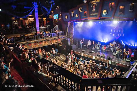 orlando house music house of blues orlando live music at downtown disney