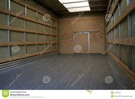 Interior Movers by Moving Truck Interior Stock Photography Image 14910872