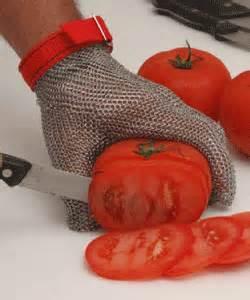 food processing gloves stainless steel metal mesh 1105