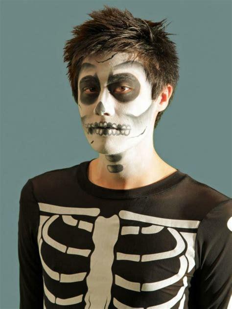 maquillaje para hombres esqueleto 1001 ideas y tutoriales de maquillaje para halloween