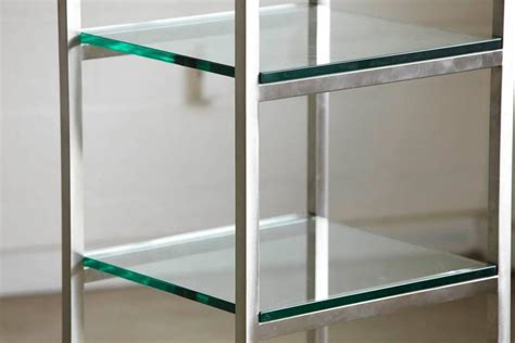 etagere 8 cases modern brushed aluminium 201 tag 232 re or display with five