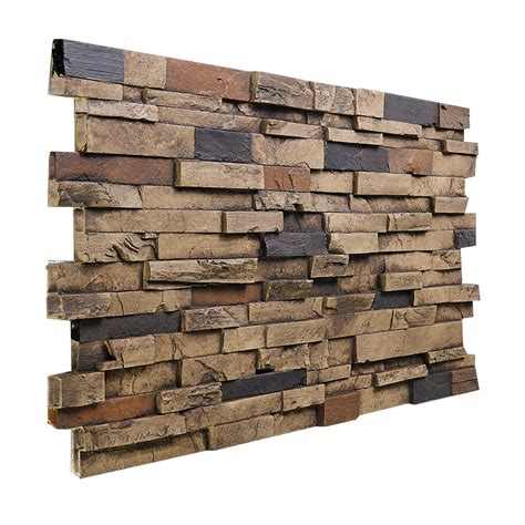 look alike rock plastic siding for shed faux wall panels columns buy faux