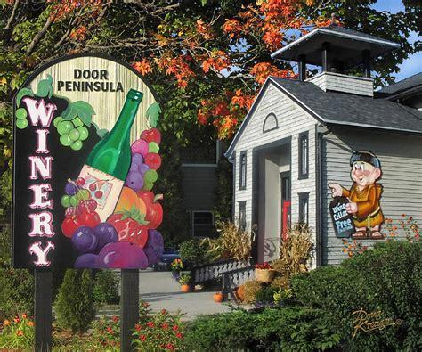 Door Peninsula Winery by Door Peninsula Winery Photograph By Doug Kreuger