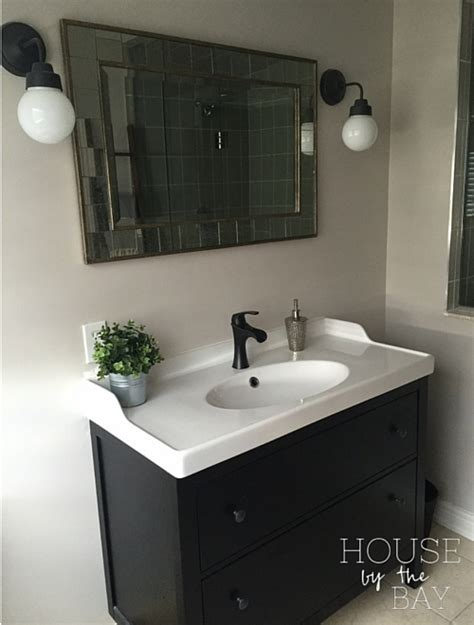 ikea master bathroom master bathroom makeover reveal house by the bayhouse by