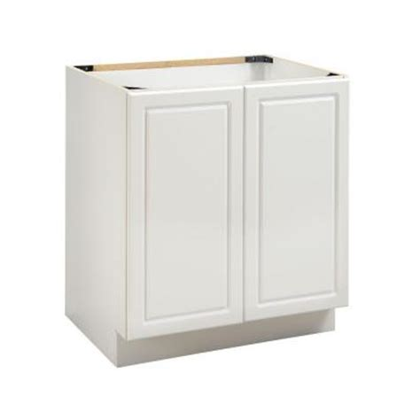heartland cabinetry bathroom 30 in 2 door sink base in