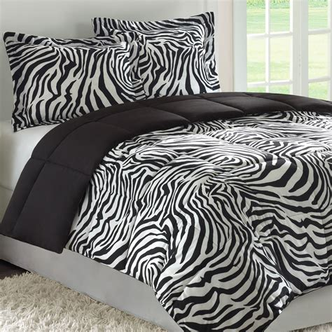 zebra bedroom set chenille stripe comforter set bed in a bag for king size bedding bed mattress sale