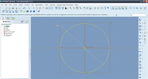 pattern a sketch in creo tutorial modeling l shade in creo elements pro aka