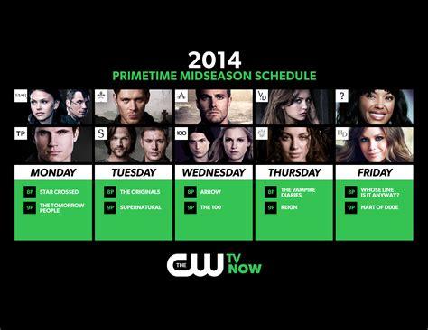 c w the cw midseason schedule 171 cw44 ta bay