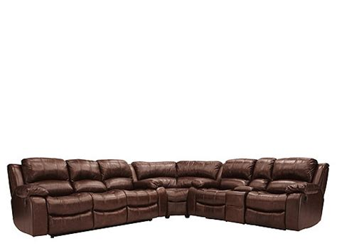 bryant ii leather sofa bryant ii 5 pc leather reclining sectional sofa