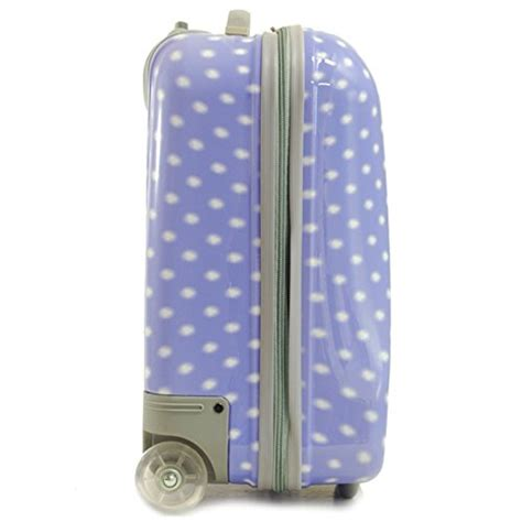 snowball valises bagages valise cabine a pois snowball