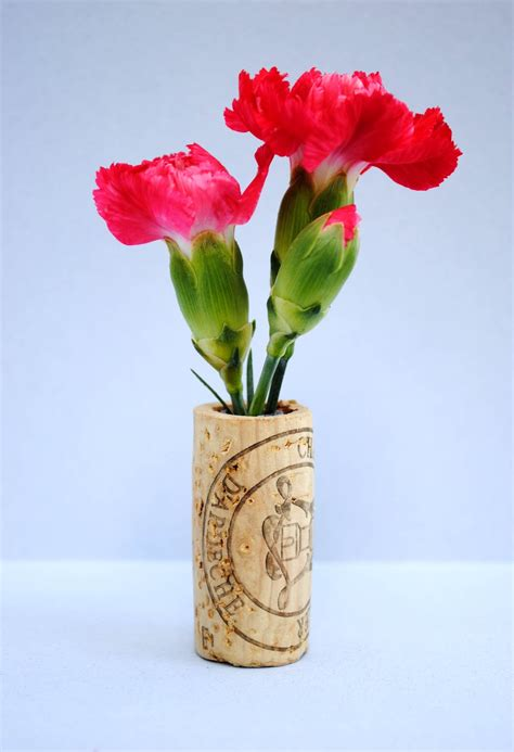 zakka craft wine cork vase