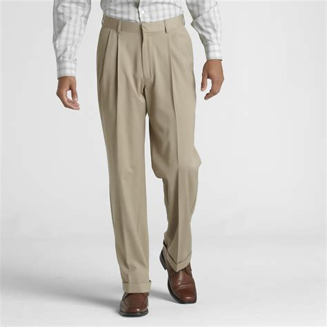 dress pants shop for mens dress pants and apparel covington men s big tall pleated front dress pants