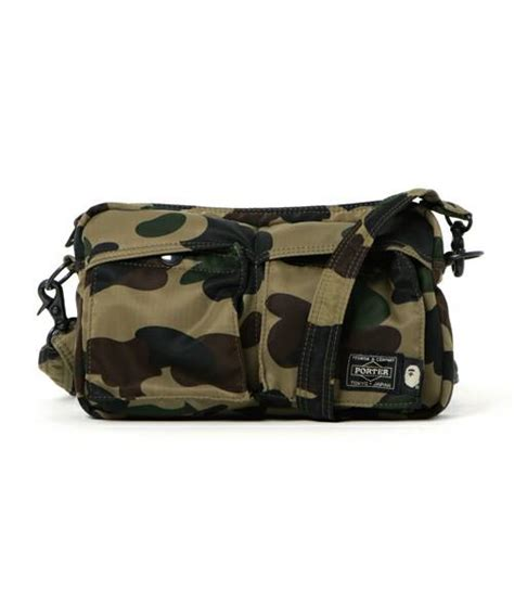 Bathing Ape Sling Bag Camo a bathing ape porter 1st camo shoulder bag s bape