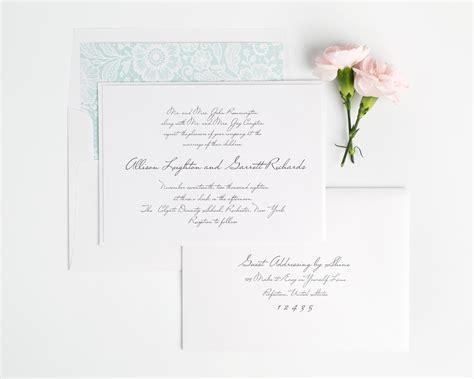 wedding templates for blogger handwritten inspired wedding invitations in mint wedding