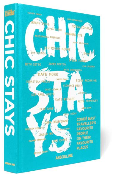 chic stays conde nast 1614285373 assouline chic stays by cond 233 nast traveler hardcover book net a porter com