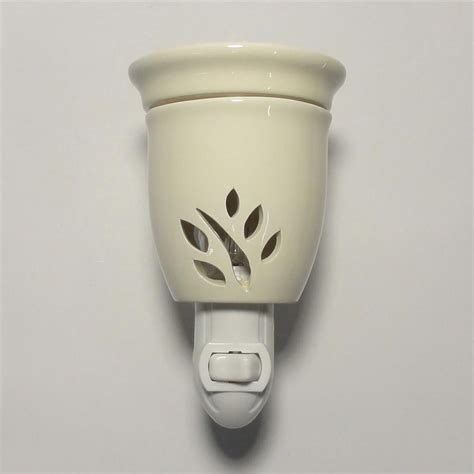 scented night light plug in plug in tart warmer night light for scented wax bar oil