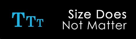 Size Does Not Always Matter by 10 Things Computer Programmers That You Dont