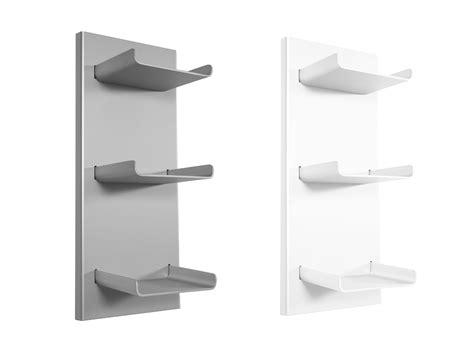 mensole x bagno mensola bagno in alluminio trio 33x23x77h cm
