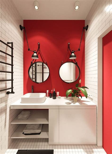 grey and red bathroom 25 best ideas about red bathrooms on pinterest guest bathroom colors pink small