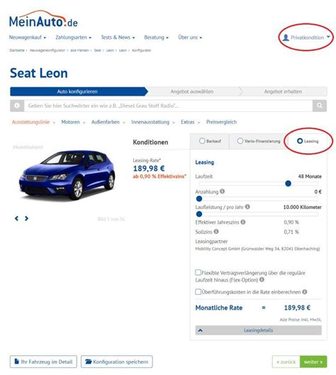 Auto Leasing Ohne Anzahlung Polo by Auto Leasing Ohne Anzahlung G 252 Nstige Angebote Meinauto De