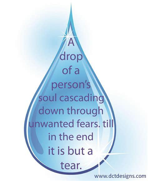 tear drop teardrop a poem dctdesigns creative canvas