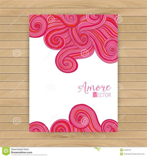 paper card wave template abstract invitation card with abstract wave template wavy