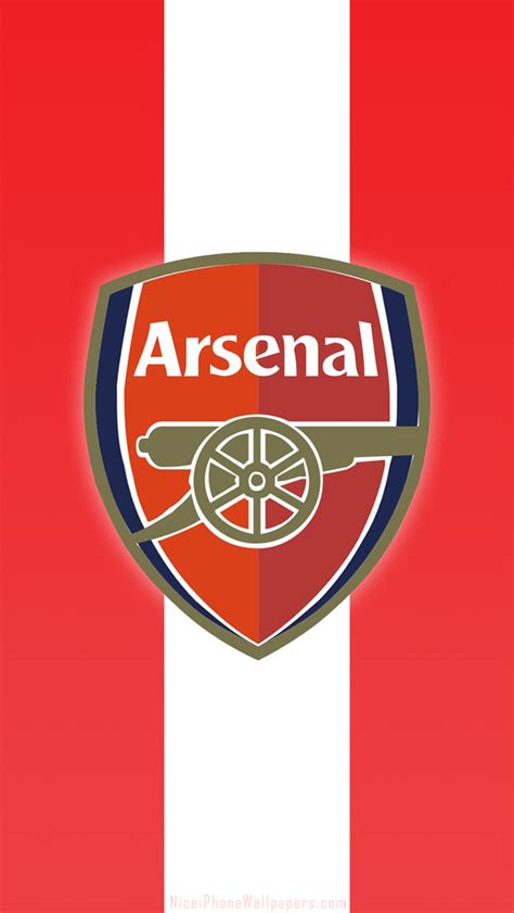 iphone wallpaper hd arsenal arsenal fc logo hd iphone 5 wallpaper and background