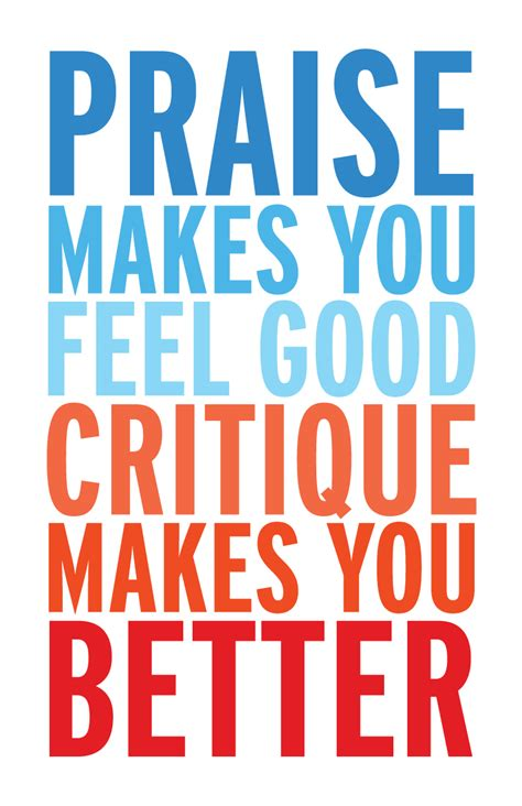 Critics Critique by Receiving Constructive Feedback In The Clinical Setting