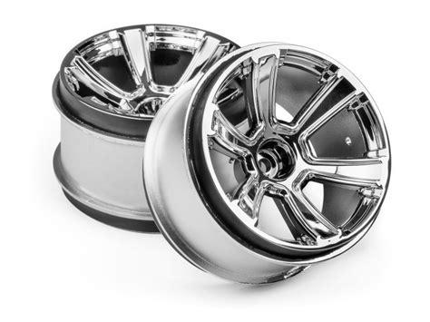 Rc 2pcs Ban Velg Tire With Wheel Set Sand Type For 1 8 1 10 1 12 Hex17 hpi 115324 6 mt wheel 2 8 quot chrome 2pcs l 248 ten rc shop as