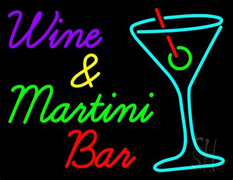 martini bar sign wine and martini bar neon sign wine neon signs every