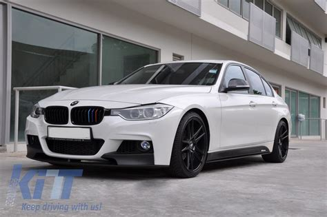 kit bmw f30 11 m performance m sport look bumper pdc