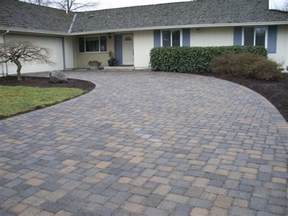 cost of paver patio cost to install brick paver driveways