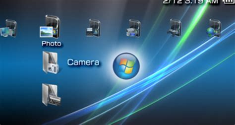 psp theme windows vista free psp theme pc os psp theme download