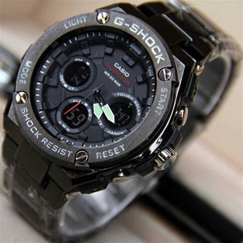 Jam Tangan G Shock Gst 201 jual jam tangan g shock gst 100 steinless gshock tali rantai