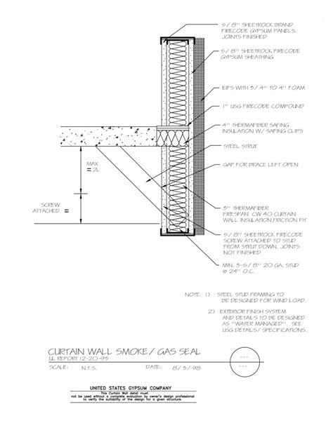 curtain wall design pdf usg design studio 08 44 00 111 curtain wall smoke gas