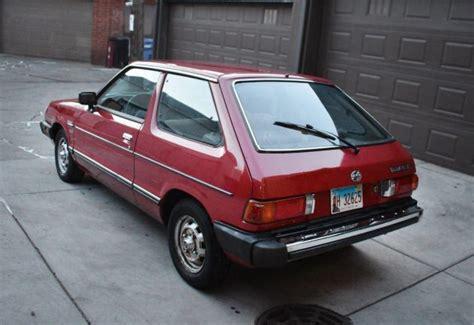 1985 subaru leone for sale one family owned 1985 subaru gl hatchback