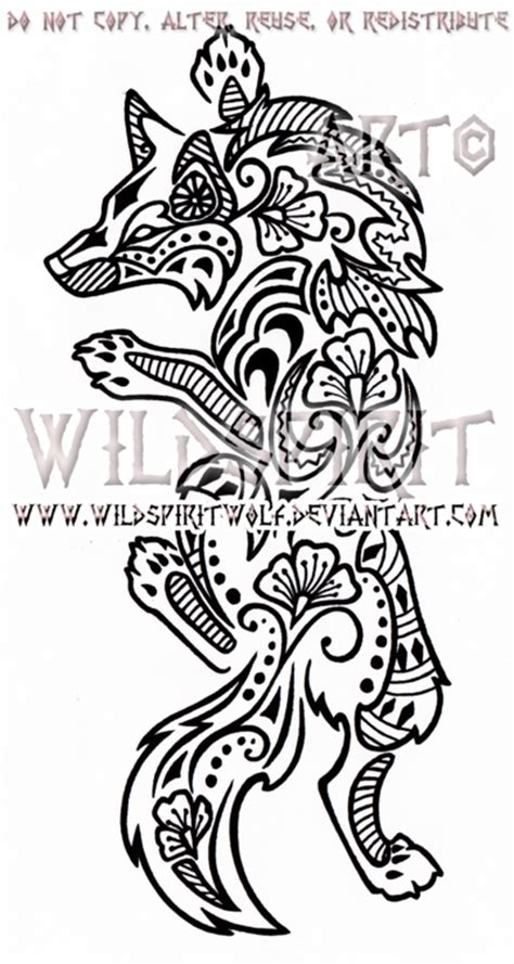 henna tattoo wolf climbing henna wolf design by wildspiritwolf on deviantart