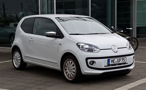 white volkswagen volkswagen up