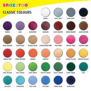 unique colors snazaroo black 18ml paint tub children s