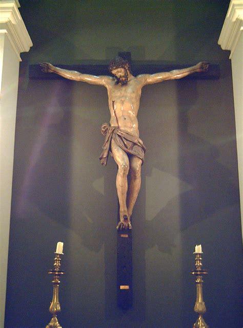 imagenes de jesucristo crucificado file cristo crucificado antonio de morales mrabasf e 268