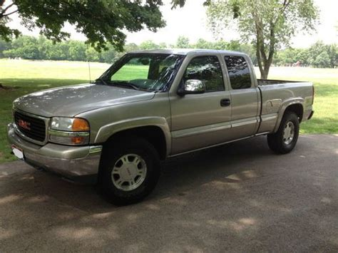 how cars engines work 2001 gmc sierra 1500 parental controls sell used 2001 gmc sierra slt 1500 z71 4x4 5 3l heated leather pewter mettalic pl pw a c in