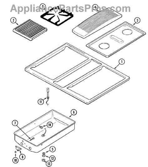 jenn air oven parts diagram parts for jenn air svd48600w top assembly parts