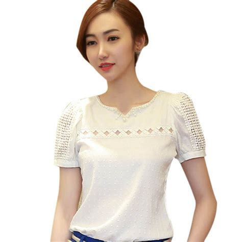 Lika Blouse blouses trendy chiffon blouse pink