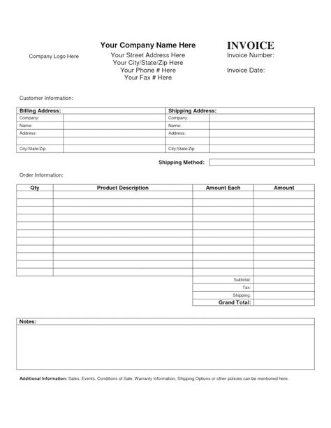blank receipts template for home inspectors blank service invoice mughals
